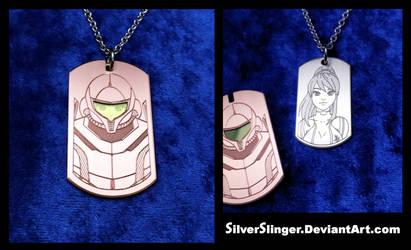 Samus Pendant (With Detachable Power Suit)