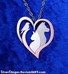 Animal Lover Pendant by SilverSlinger