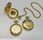 Midday Celestia Pocket Watch