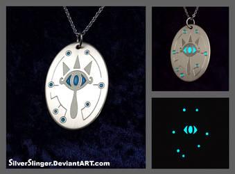 Sheikah Eye Pendant by SilverSlinger