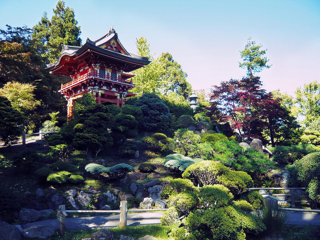 Japanese Garden by martinemes