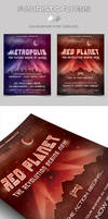 Futuristic Flyer / Poster Templates