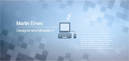 Splash for Home Page by martinemes