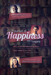 Free Flyer Template - Pursuit of Happiness