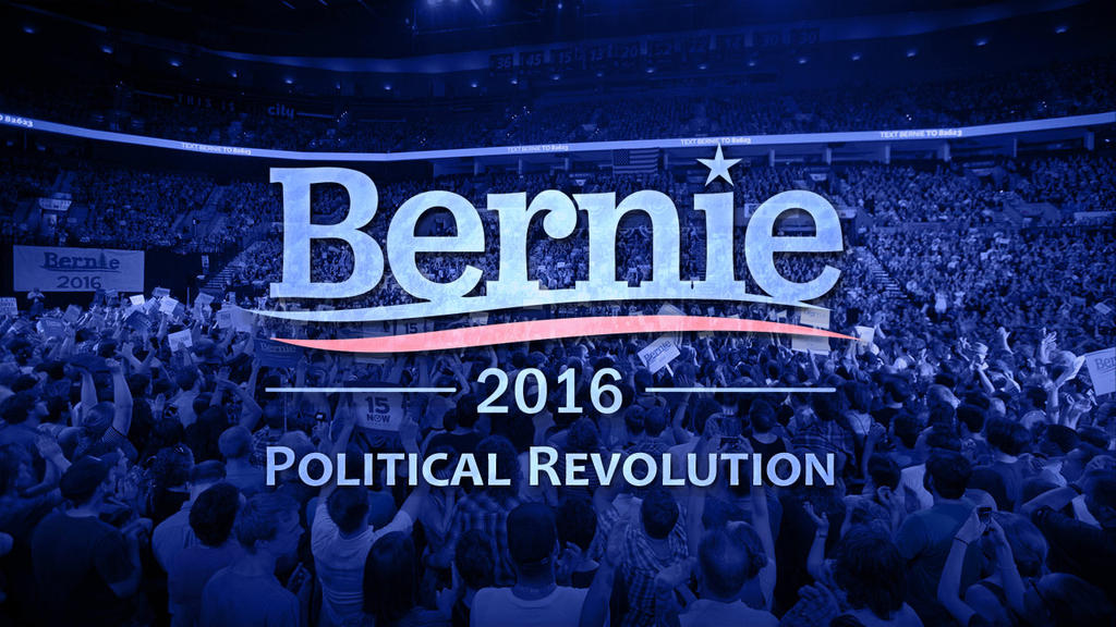 Bernie 2016 - Political Revolution by martinemes