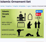 Islamic Ornament Set