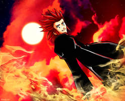 Axel Flame by Hiruka00