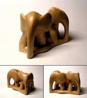 Three Elephants by charlie1101