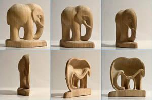 Half-Elephant by charlie1101