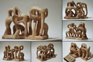 6 Elephants by charlie1101