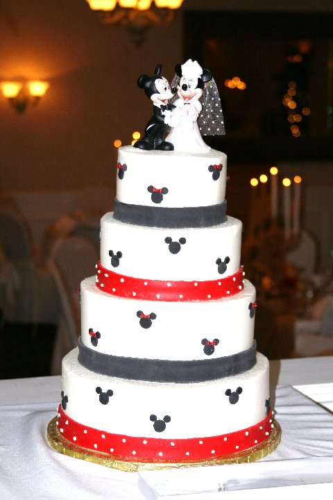disney wedding cake by sleopardcub on deviantart. Black Bedroom Furniture Sets. Home Design Ideas
