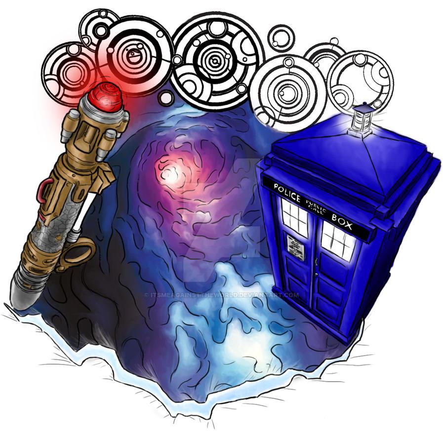 Doctor Who Tattoo Design By ItsMeAgainstTheWorld On DeviantArt