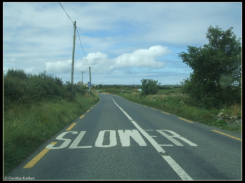Slow is too FAST.. by Gwitha-Kathes