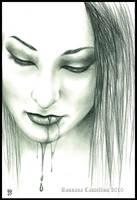 Ophelia vampire by RossanaCastellino