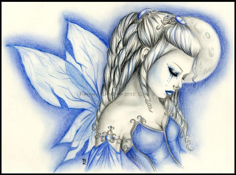 winter fairy by RossanaCastellino