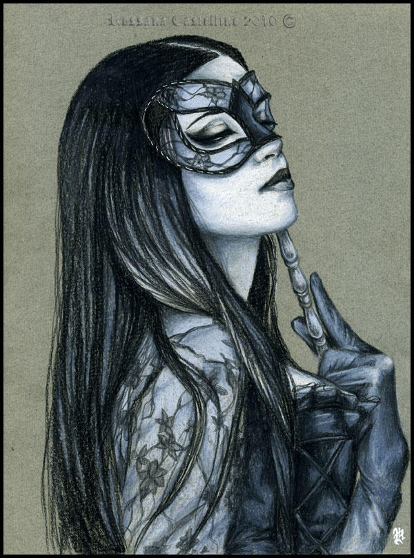 Midnight Masquerade by RossanaCastellino