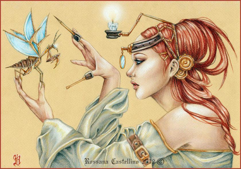 The Scientist by RossanaCastellino
