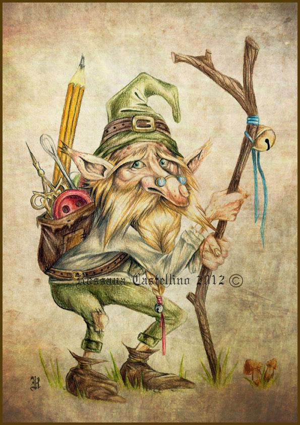 Rupert - Gnome by RossanaCastellino