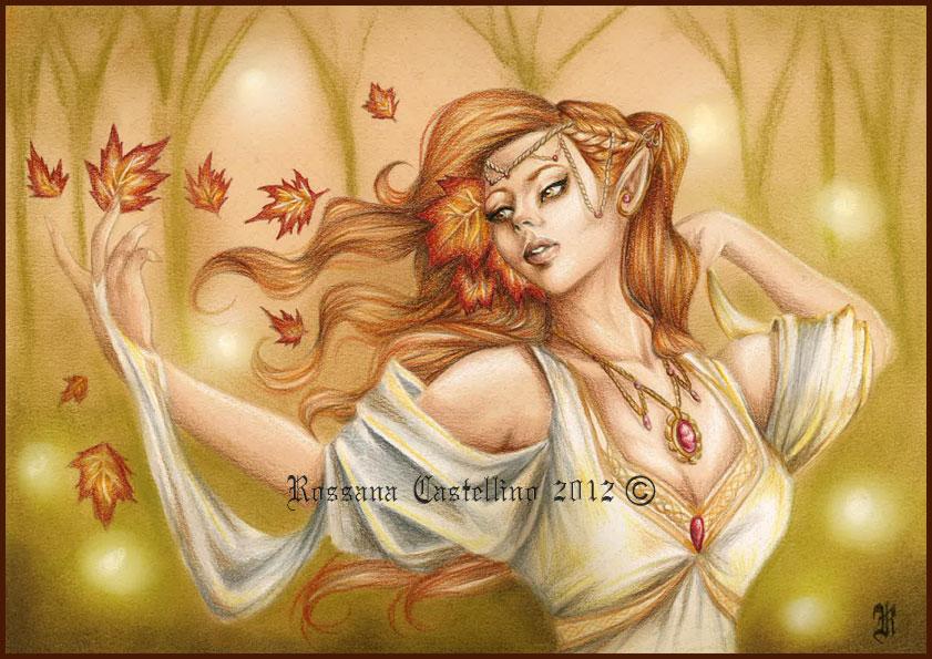 Autumn Spirit by RossanaCastellino