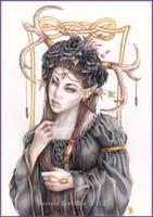Deer Princess by RossanaCastellino