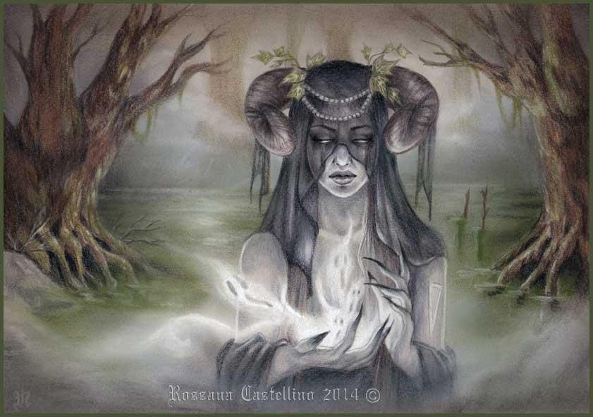 Swamp Spirit by RossanaCastellino