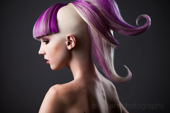 Purple Curl by jakegarn