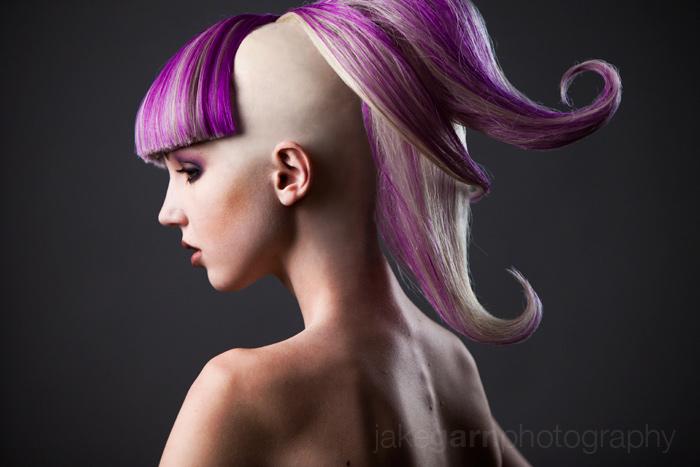 Purple Curl by jakegarn