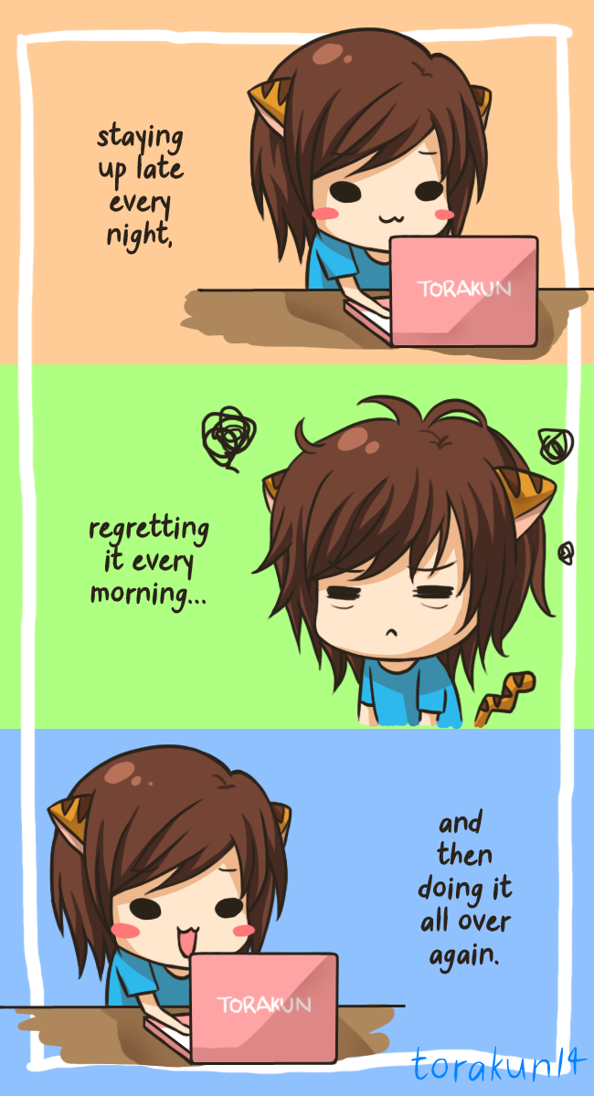Daily routine by torakun14