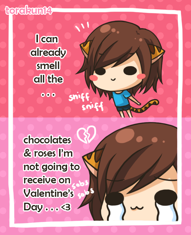 Torakun Comics: Valentine's Day by torakun14