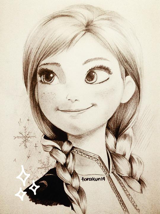 Anna Frozen by torakun14