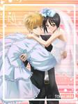 Kaichou wa Maid sama: Usui and Misaki