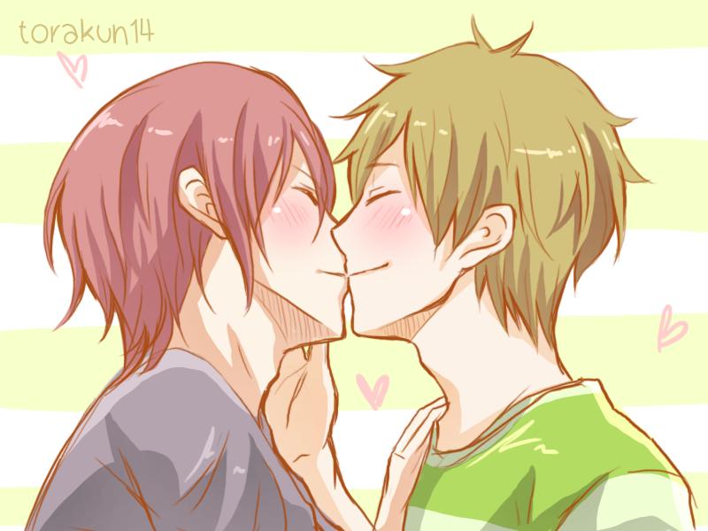 Rin and Makoto by torakun14