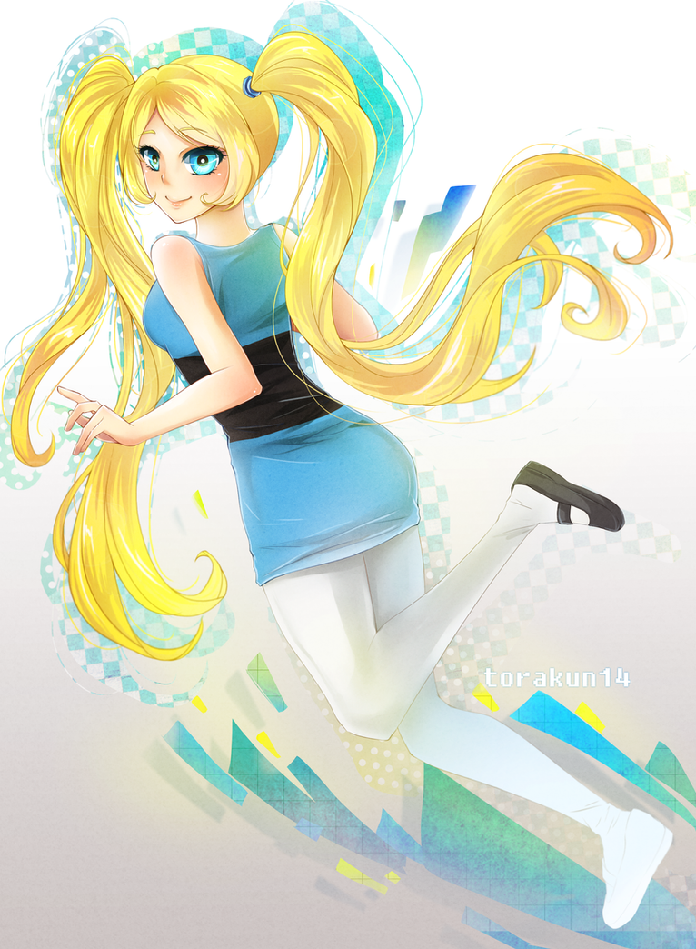 Fanart : Bubbles by torakun14