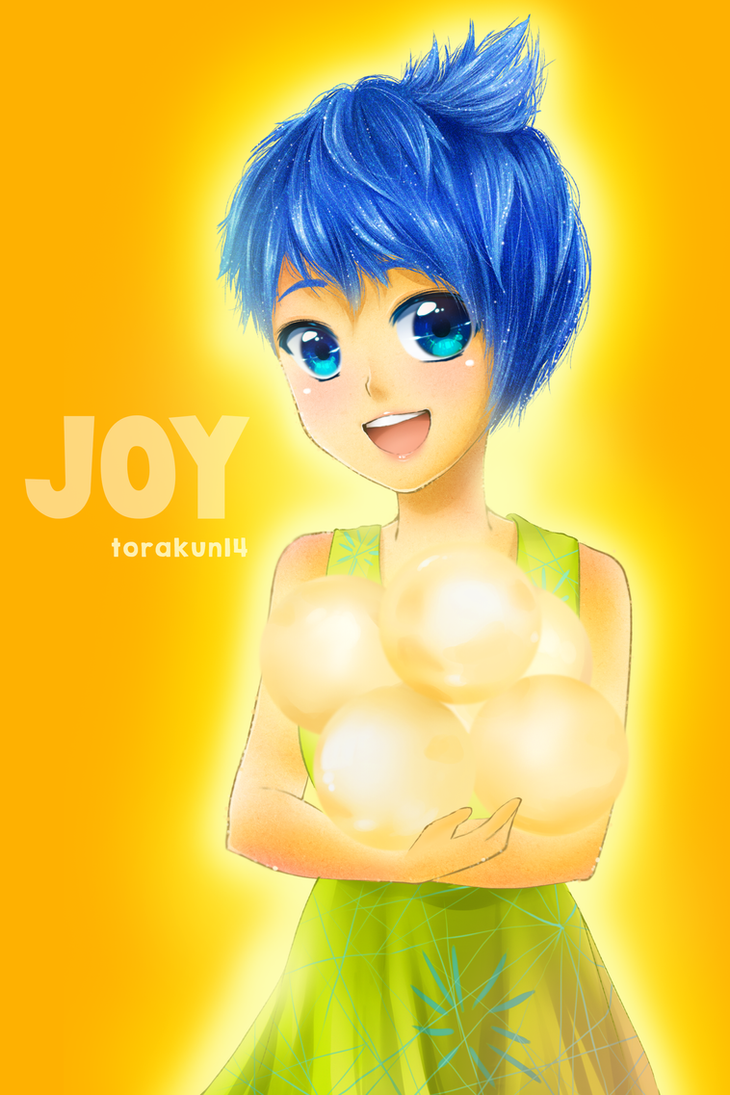 Fanart Joy Inside Out By Torakun14 On Deviantart