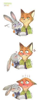 Fanart: Judy and Nick (Zootopia)