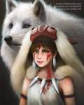 Fanart: Mononoke Hime (Princess Mononoke)