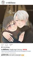 Fanart: Viktor's Instagram