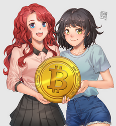 Commission: Anime Coin by torakun14