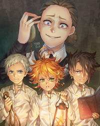 The Promised Neverland by torakun14