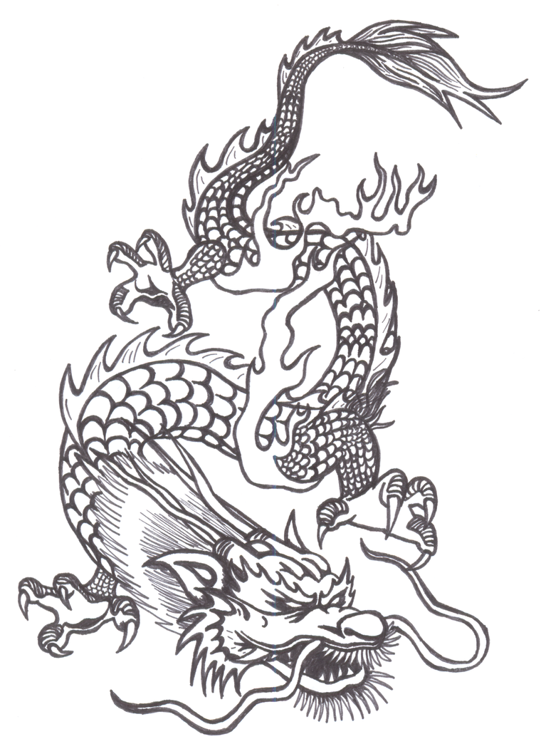 Chinese Dragon By PokeponyAquaBubbles On DeviantArt