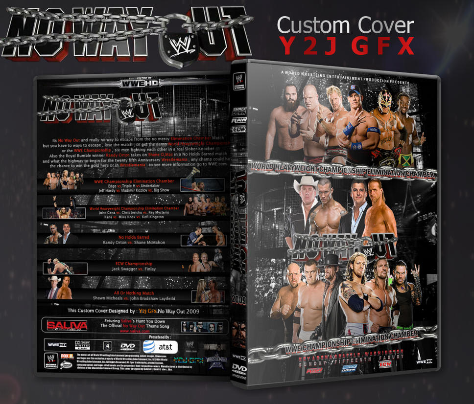 No Way Out 2009 Custom Cover by Y2JGFX