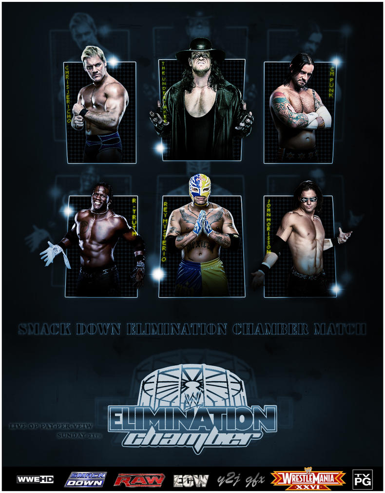 Image result for Elimination chamber 2010 poster