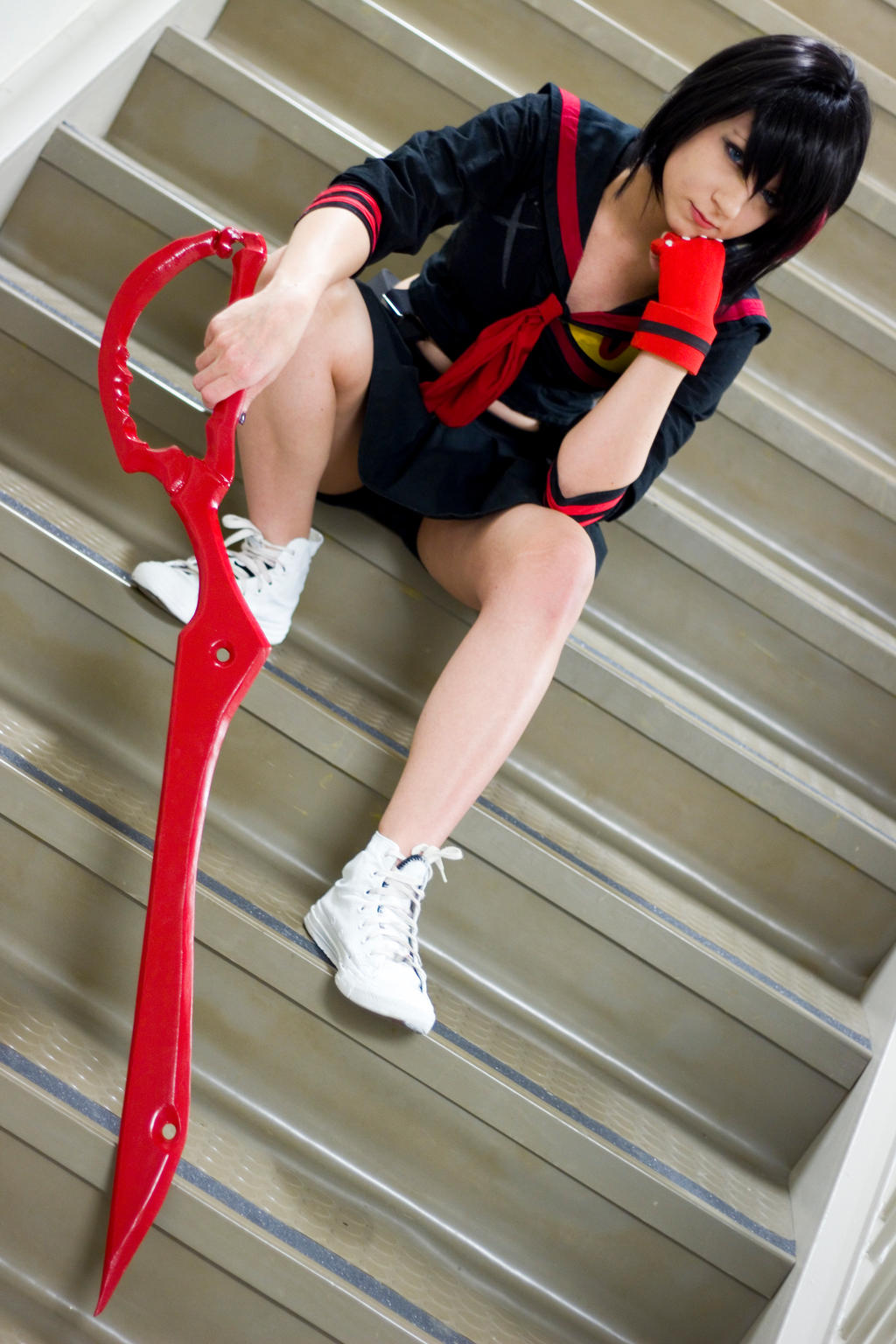 Kill la Kill: Ryuko Matoi by xXSnowFrostXx