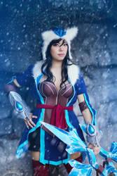 League: Warrior of the Snow by xXSnowFrostXx