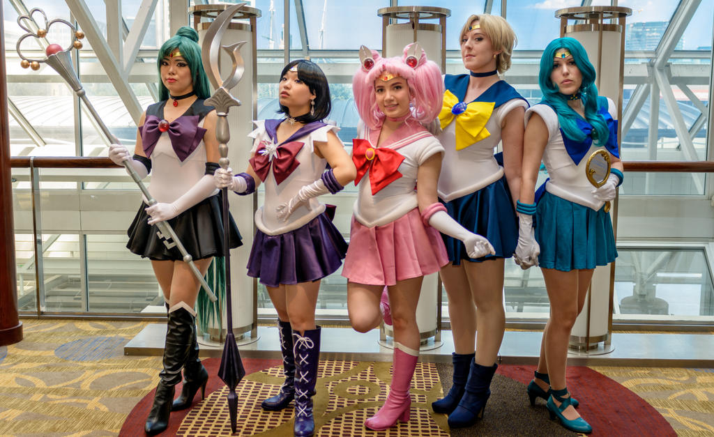 Sailor Moon: Outer Senshi by xXSnowFrostXx