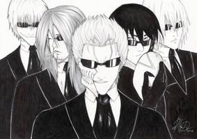 Men in Black by dark-tarou