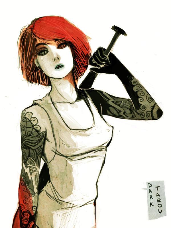 Red 00 by dark-tarou