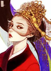 Commission: Tomoko by dark-tarou