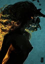 Underwater Demon by dark-tarou