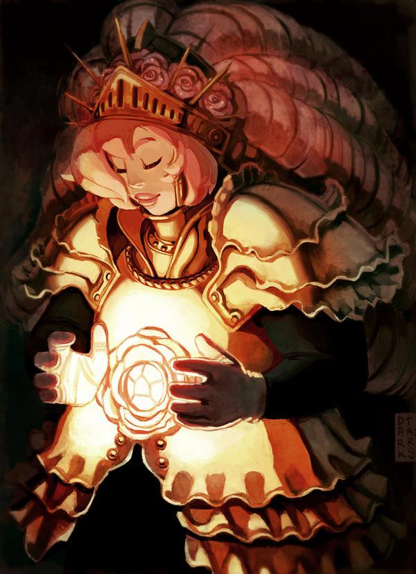 Rose Quartz by dark-tarou